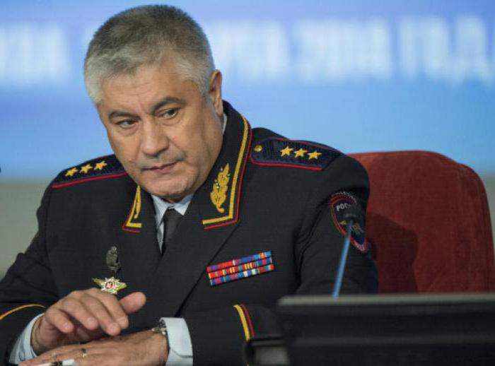 Министр МВД России Колокольцев