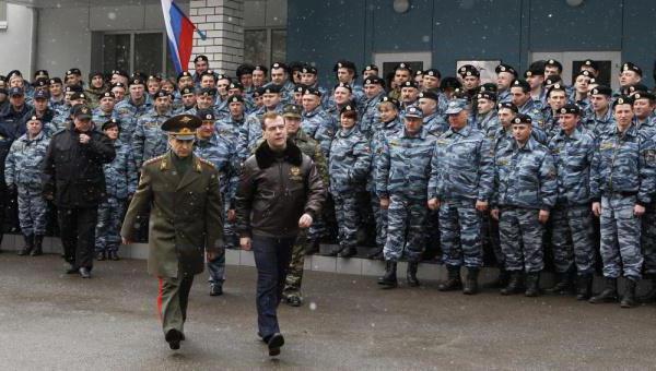 министр внутренних дел РФ