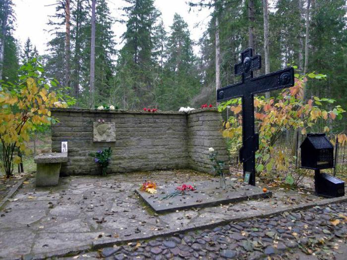 Комаровское кладбище кто похоронен