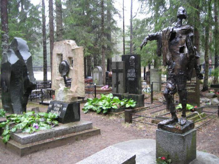 Комаровское кладбище спб
