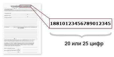посмотреть информацию о штрафе по номеру постановления