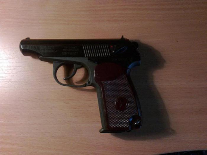 сигнальный пистолет макарова мр 371 автоматика