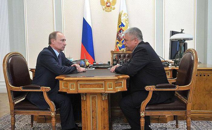 министр внутренних дел России