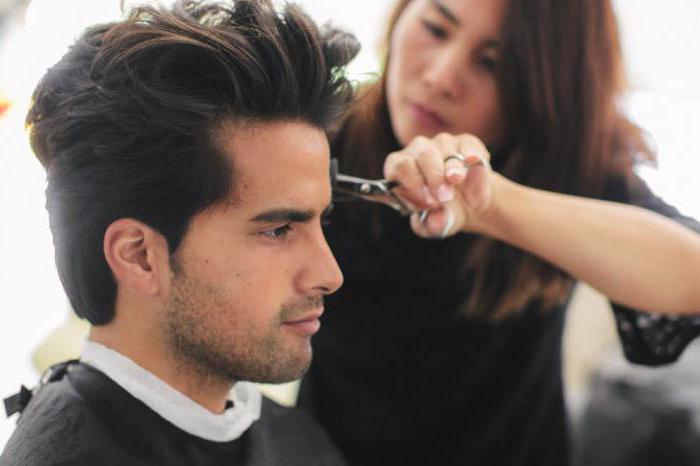 окантовка длинных волос
