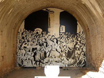 монастырь аркади маршруты туристов того, числе погибших