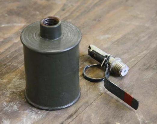 корпус гранаты