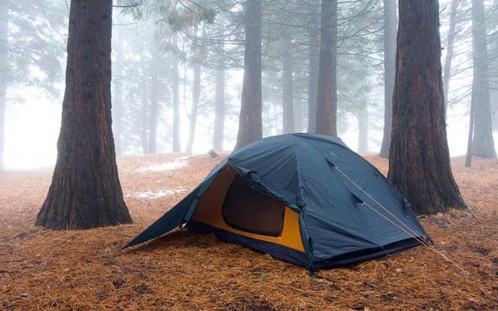 Где можно поставить палатку