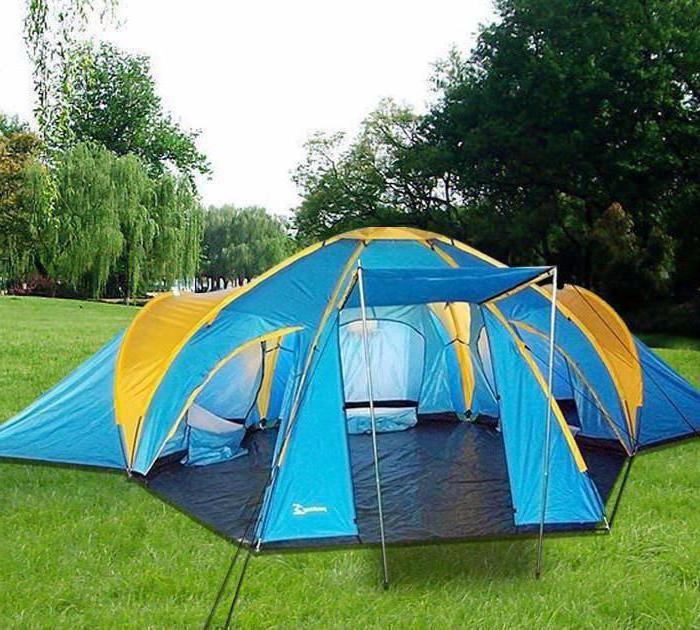 как правильно поставить палатку