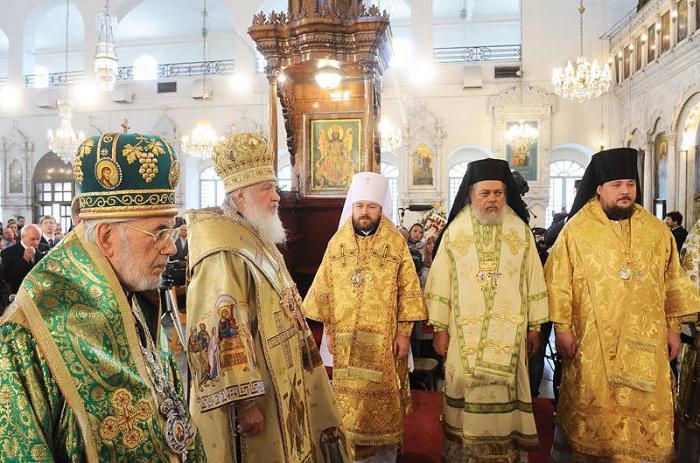 основные концепции русской православной церкви