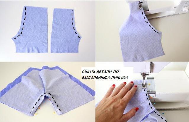 построение выкройки шорт женских на резинке