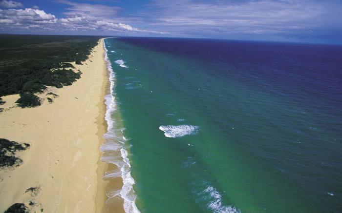 Самый длинный пляж (45 км)