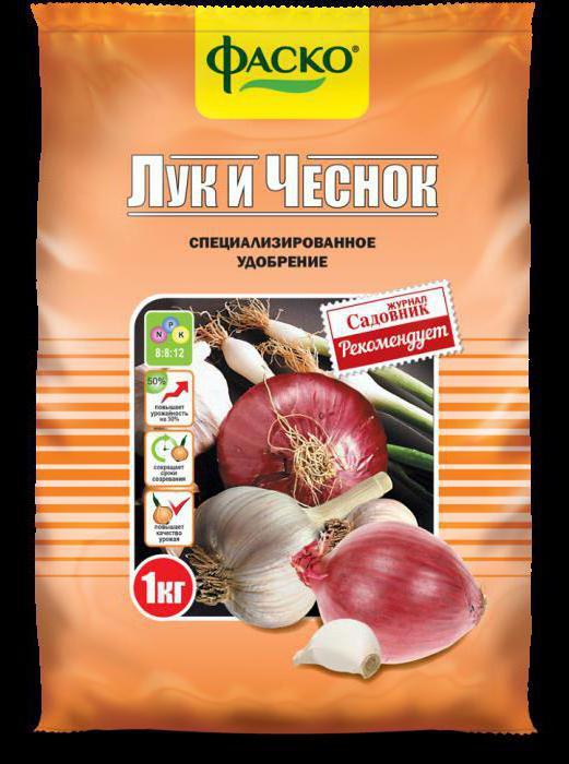 лучшее удобрение для лука и чеснока
