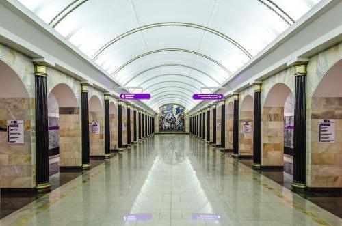 станция метро спб