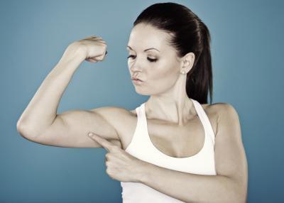 как убрать жир с рук и плеч
