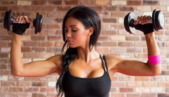 упражнение для похудения рук вдомашних условиях