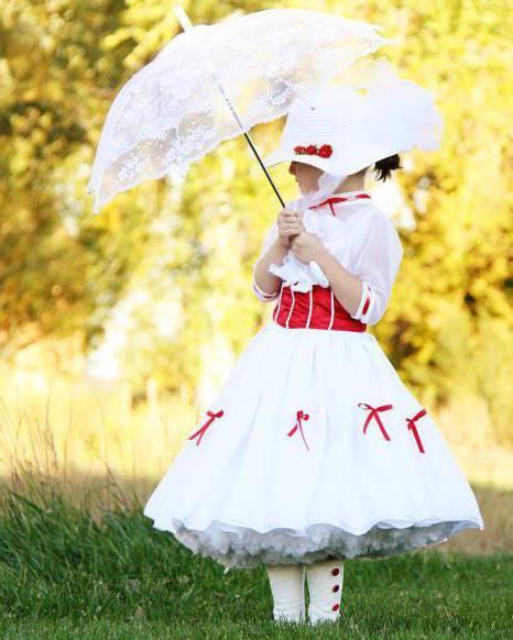 костюм мэри поппинс своими руками для девочек