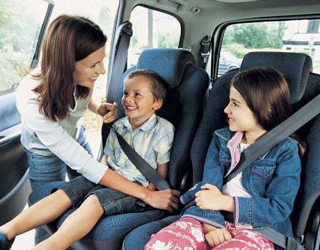 закон о перевозке детей в автомобиле