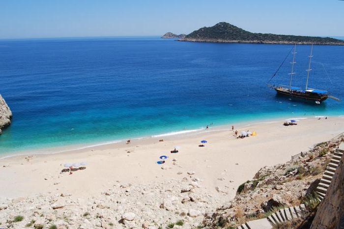 лучшие пляжи турции с белым фото