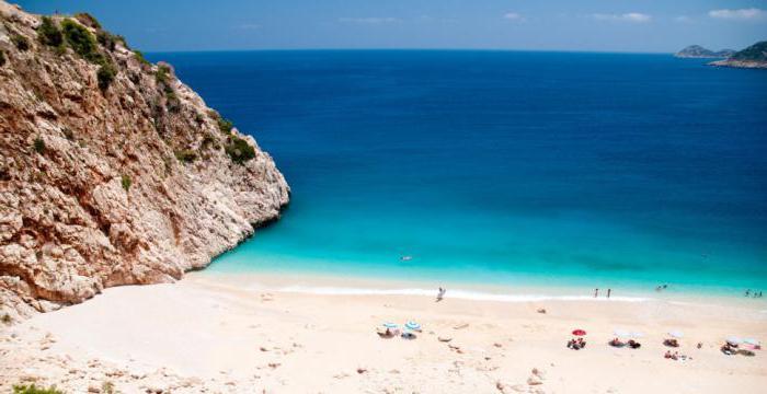 10 лучших пляжей турции с белым песком