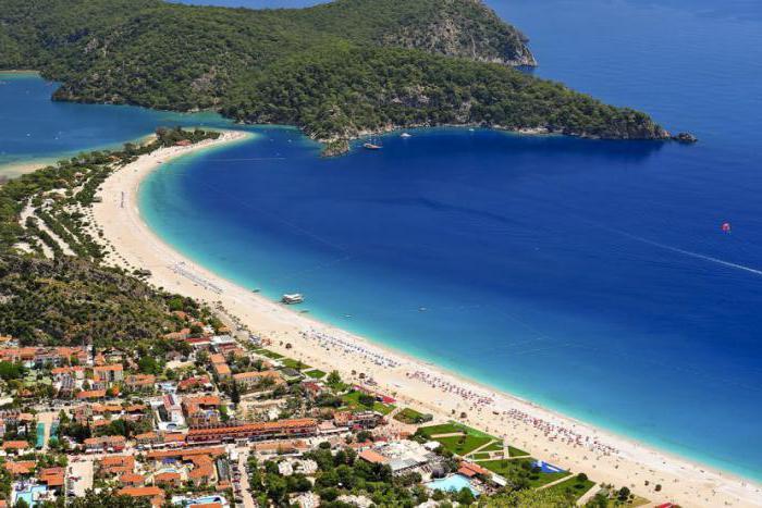 лучшие пляжи турции с белым песком рейтинг