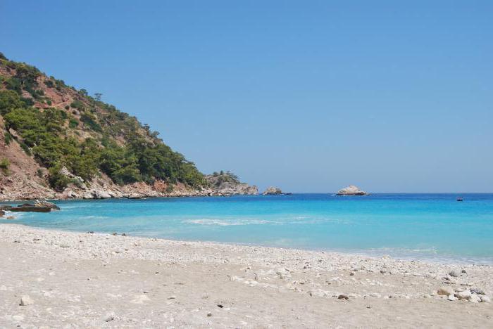 лучшие пляжи турции с белым песком фото