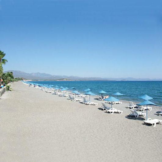 лучшие пляжи турции с белым песком отели