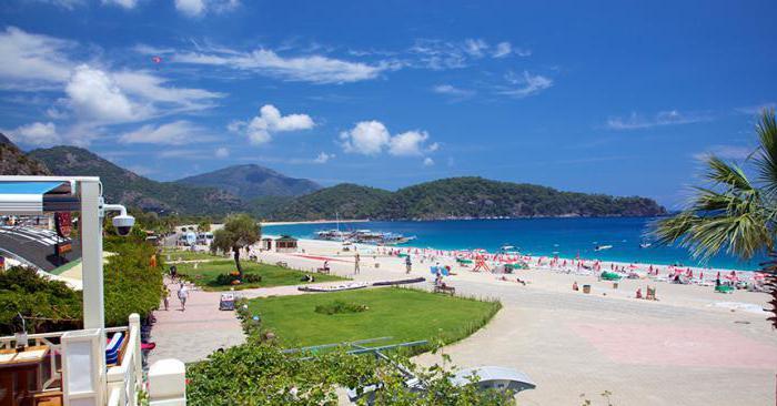 лучшие пляжи турции с белым песком