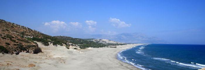 самые лучшие пляжи турции с белым песком
