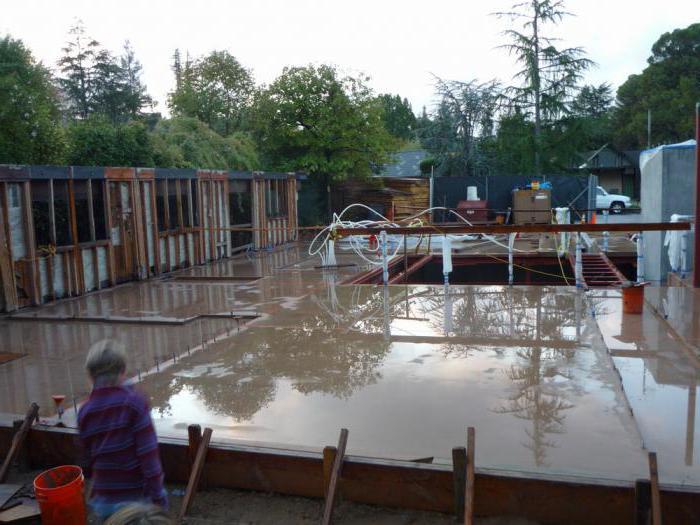 можно ли в дождь заливать фундамент