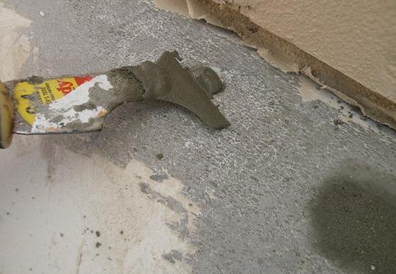 какой краской покрасить бетон