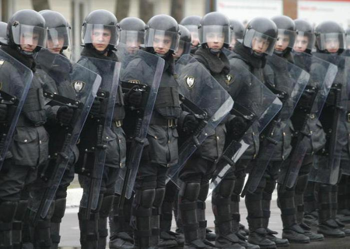 Нижний Новгород военные части МВД
