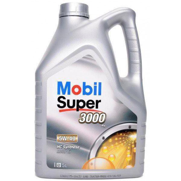 моторное масло мобил супер 3000 5w40 отзывы