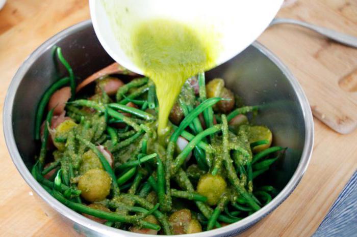 спаржевый салат рецепты