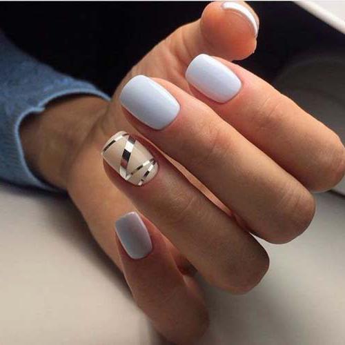 маникюр на коротких ногтях розовый