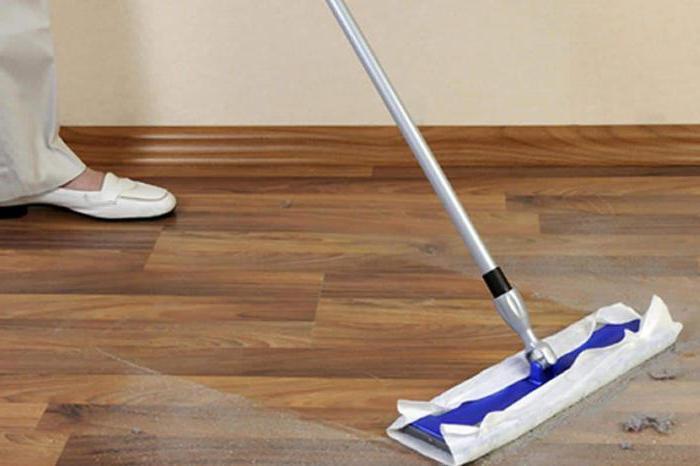 Чем отмыть ламинат в домашних условиях 180