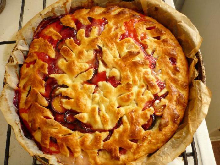 пирог с алычой рецепт