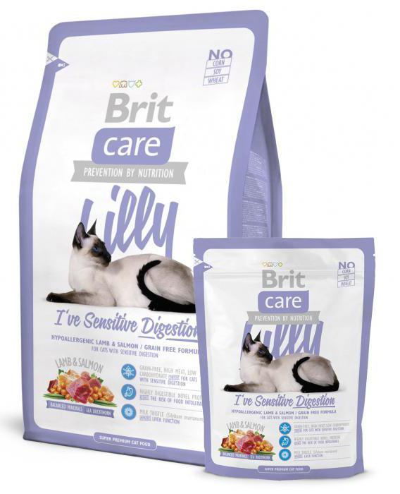 влажный корм для кошек с чувствительным пищеварением