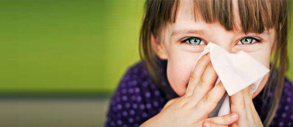 признаки аллергии на пыль у детей