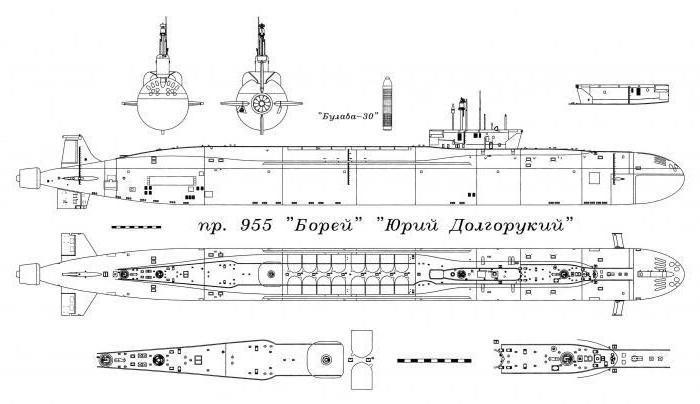 длина подводной лодки казань
