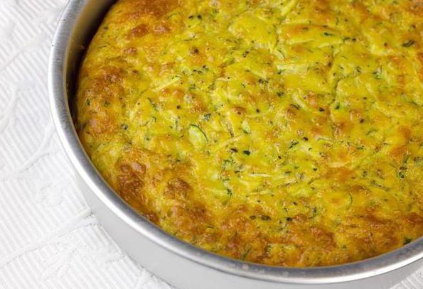 кабачковый пирог запеканка в духовке
