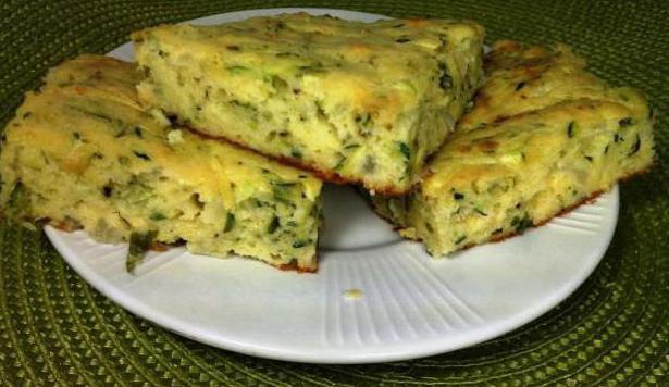 рецепт кабачкового пирога в духовке