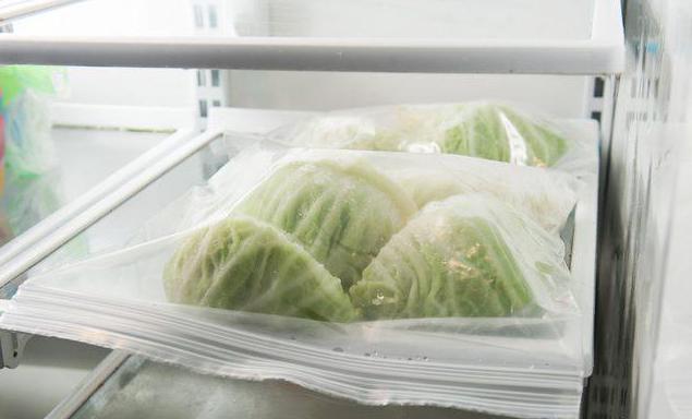 как заморозить капусту для голубцов на зиму