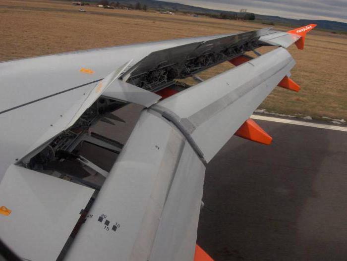 механизация крыла ту 154