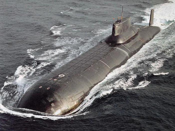 атомный подводный авианосец акула