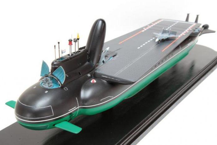проект подводного авианосца