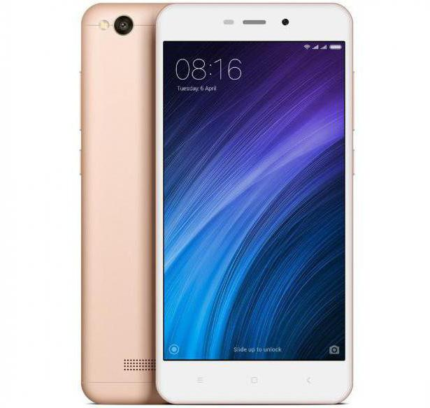 характеристики xiaomi redmi 4a 16gb rose gold
