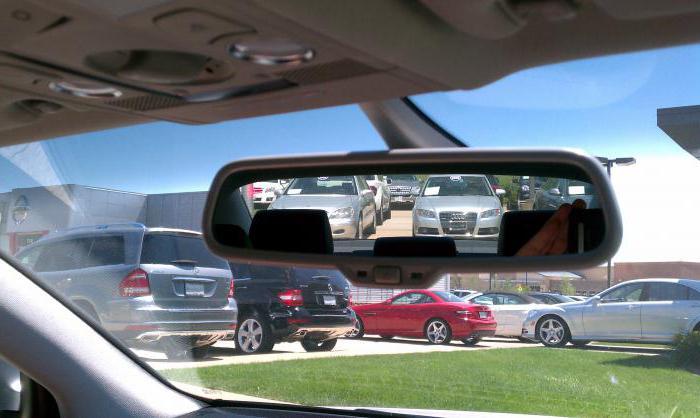 как правильно настроить зеркала в автомобиле фото