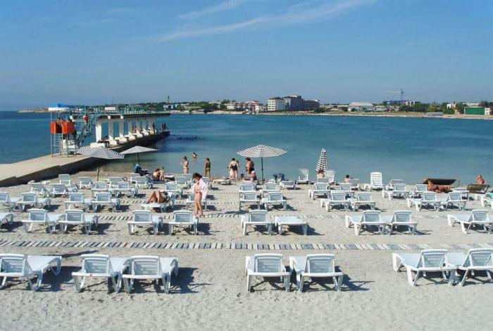 Пляж омега севастополь