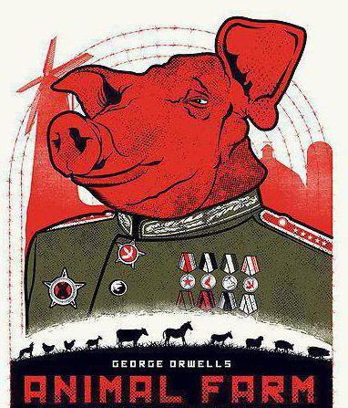the aspects of rebellion as depicted in the novel animal farm The novel introduces the story of a an animal farm which is being used to destroy the living of the animals by competing for the power in the governance of the farm which leaves the farm shattered in the end.