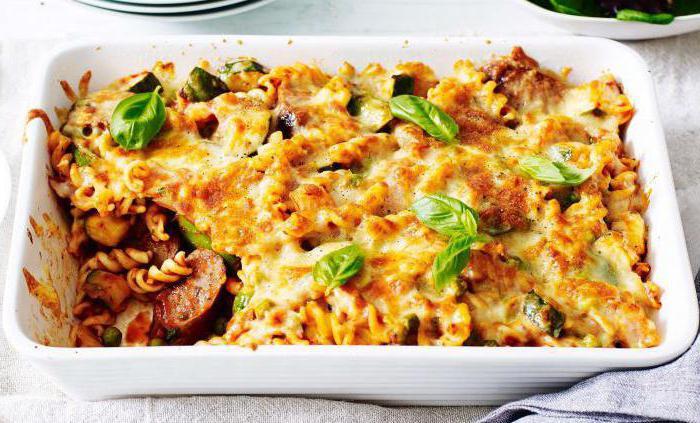 Блюда из макарон рецепты простые и вкусные постные
